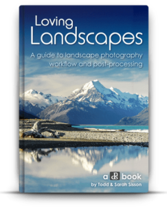 Landscapes photography book
