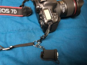 Camera strap accessories to make Handling Cameras and Gear Easily